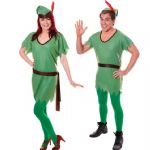 ELF PETER PAN ROBIN HOOD ADULT MEN LADIES FANCY DRESS COSTUME